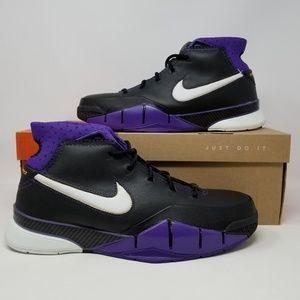 Nike 2006 Kobe 1 Blackout Purple Men's size 11 NEW